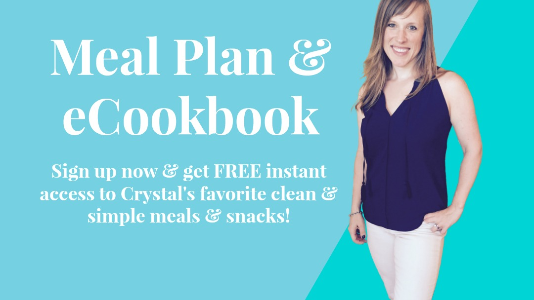 1 Week Meal Plan Cookbook, CrystalChester.com